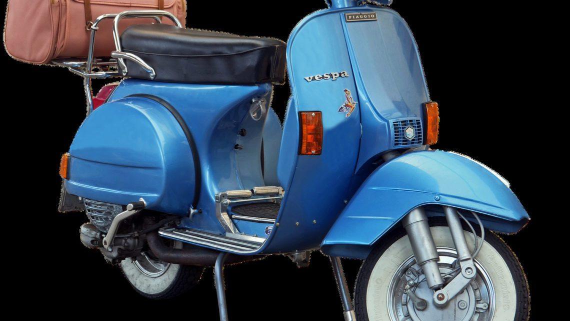 Un scooter vintage pour tous vos déplacements, c'est la classe !